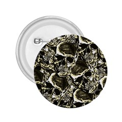 Skull Pattern 2 25  Buttons by ValentinaDesign