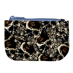 Skull Pattern Large Coin Purse