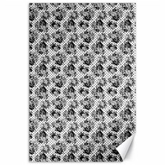 Floral Pattern Canvas 24  X 36  by ValentinaDesign