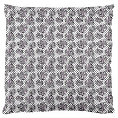 Floral Pattern Standard Flano Cushion Case (one Side) by ValentinaDesign