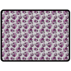 Floral Pattern Fleece Blanket (large)  by ValentinaDesign