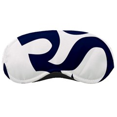 Hindu Om Symbol (dark Blue) Sleeping Masks by abbeyz71