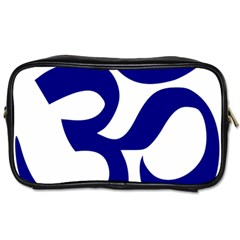 Om Symbol (navy Blue) Toiletries Bags 2 Side by abbeyz71
