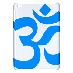 Hindu Om Symbol (ocean Blue) Apple Ipad Mini Hardshell Case by abbeyz71