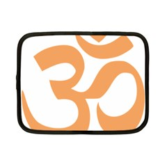 Hindu Om Symbol (sandy Brown) Netbook Case (small)