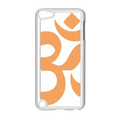 Hindu Om Symbol (sandy Brown) Apple Ipod Touch 5 Case (white) by abbeyz71