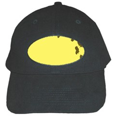 Banner Polkadot Yellow Grey Spot Black Cap by Mariart
