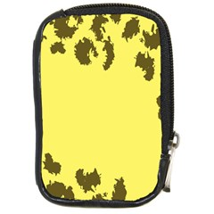 Banner Polkadot Yellow Grey Spot Compact Camera Cases by Mariart