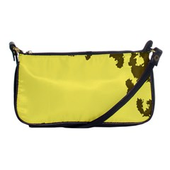 Banner Polkadot Yellow Grey Spot Shoulder Clutch Bags by Mariart