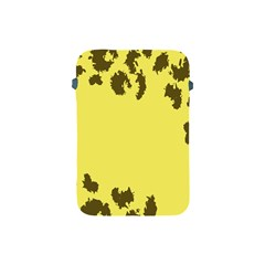 Banner Polkadot Yellow Grey Spot Apple Ipad Mini Protective Soft Cases by Mariart