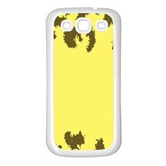 Banner Polkadot Yellow Grey Spot Samsung Galaxy S3 Back Case (white) by Mariart
