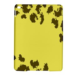Banner Polkadot Yellow Grey Spot Ipad Air 2 Hardshell Cases by Mariart