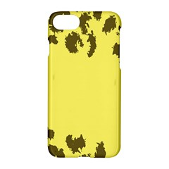 Banner Polkadot Yellow Grey Spot Apple Iphone 7 Hardshell Case by Mariart