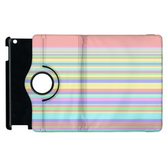 All Ratios Color Rainbow Pink Yellow Blue Green Apple Ipad 2 Flip 360 Case by Mariart