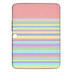 All Ratios Color Rainbow Pink Yellow Blue Green Samsung Galaxy Tab 3 (10 1 ) P5200 Hardshell Case  by Mariart