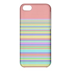 All Ratios Color Rainbow Pink Yellow Blue Green Apple Iphone 5c Hardshell Case by Mariart