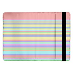 All Ratios Color Rainbow Pink Yellow Blue Green Samsung Galaxy Tab Pro 12 2  Flip Case by Mariart