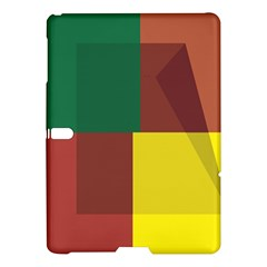 Albers Out Plaid Green Pink Yellow Red Line Samsung Galaxy Tab S (10 5 ) Hardshell Case  by Mariart