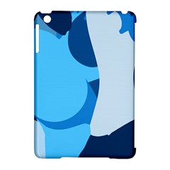 Blue Polka Apple Ipad Mini Hardshell Case (compatible With Smart Cover) by Mariart