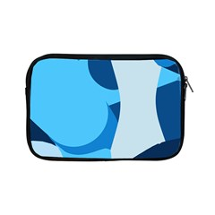 Blue Polka Apple Ipad Mini Zipper Cases by Mariart