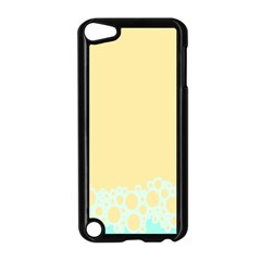 Bubbles Yellow Blue White Polka Apple Ipod Touch 5 Case (black) by Mariart