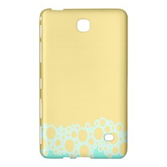 Bubbles Yellow Blue White Polka Samsung Galaxy Tab 4 (8 ) Hardshell Case  by Mariart