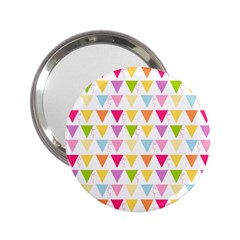 Bunting Triangle Color Rainbow 2 25  Handbag Mirrors by Mariart