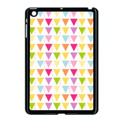 Bunting Triangle Color Rainbow Apple Ipad Mini Case (black) by Mariart