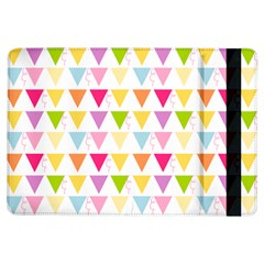 Bunting Triangle Color Rainbow Ipad Air Flip by Mariart