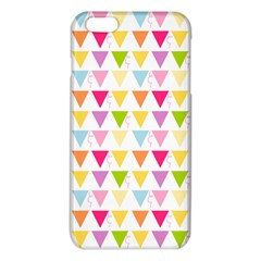Bunting Triangle Color Rainbow Iphone 6 Plus/6s Plus Tpu Case by Mariart
