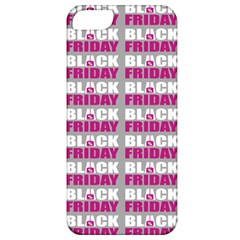 Black Friday Sale White Pink Disc Apple Iphone 5 Classic Hardshell Case by Mariart