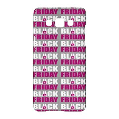 Black Friday Sale White Pink Disc Samsung Galaxy A5 Hardshell Case  by Mariart