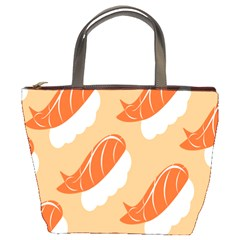 Fish Eat Japanese Sushi Bucket Bags by Mariart