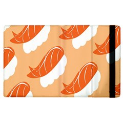Fish Eat Japanese Sushi Apple Ipad 2 Flip Case by Mariart
