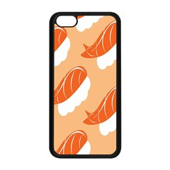 Fish Eat Japanese Sushi Apple Iphone 5c Seamless Case (black) by Mariart