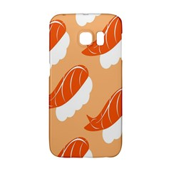 Fish Eat Japanese Sushi Galaxy S6 Edge by Mariart