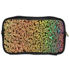 Crystals Rainbow Toiletries Bags 2 Side by Mariart