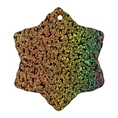 Crystals Rainbow Ornament (snowflake)