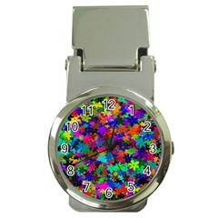 Flowersfloral Star Rainbow Money Clip Watches by Mariart