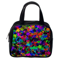 Flowersfloral Star Rainbow Classic Handbags (one Side) by Mariart