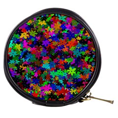 Flowersfloral Star Rainbow Mini Makeup Bags by Mariart