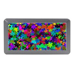 Flowersfloral Star Rainbow Memory Card Reader (mini) by Mariart
