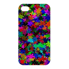 Flowersfloral Star Rainbow Apple Iphone 4/4s Premium Hardshell Case by Mariart