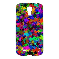 Flowersfloral Star Rainbow Samsung Galaxy S4 I9500/i9505 Hardshell Case by Mariart