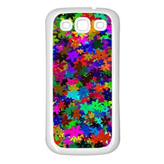 Flowersfloral Star Rainbow Samsung Galaxy S3 Back Case (white)
