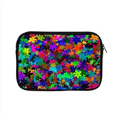 Flowersfloral Star Rainbow Apple Macbook Pro 15  Zipper Case by Mariart