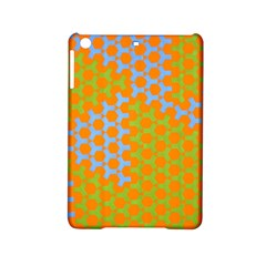Green Blue Orange Ipad Mini 2 Hardshell Cases by Mariart