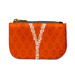 Iron Orange Y Combinator Gears Mini Coin Purses by Mariart