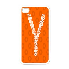 Iron Orange Y Combinator Gears Apple Iphone 4 Case (white) by Mariart