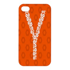 Iron Orange Y Combinator Gears Apple Iphone 4/4s Hardshell Case by Mariart
